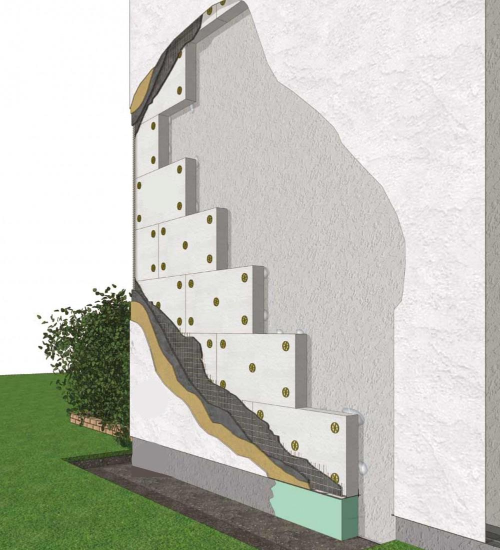 Isolation des murs extérieur enrpac